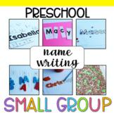 Preschool Small Group: Name Writing