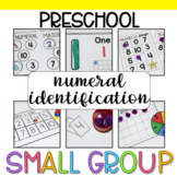 Preschool Small Group: Numeral Identification