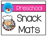 Preschool Snack Mats For Colors, Numbers, And Shapes