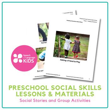 Preschool Social Group Kit - No Prep Kit