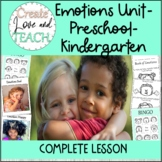 Labeling Emotions Preschool, Pre K, Kindergarten