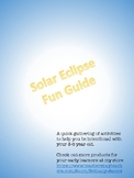 Preschool Solar Eclipse Fun Guide