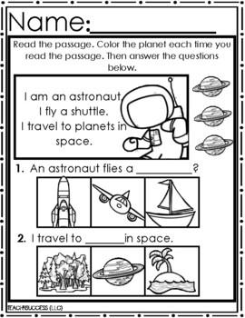 Pre-Kindergaten Solar System