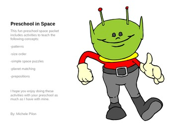 Preschool Solar System Fun