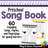 Preschool Song Book