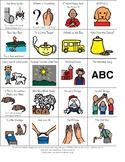 Preschool Song Choice Board (with Lyrics)