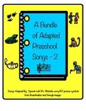 Preschool Songs Bundle 2