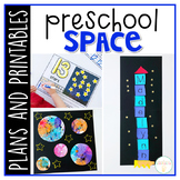 Preschool: Space {Plans and Printables}