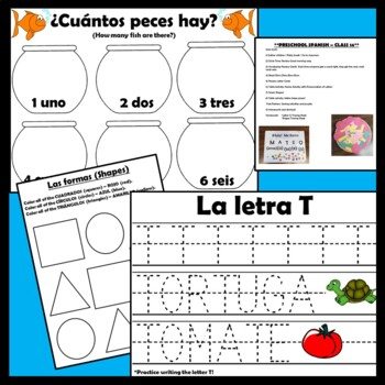 Preschool Spanish Curriculum - Growing Bundle