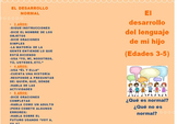 Preschool Spanish Language Development Brochure