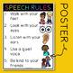 Preschool Speech: Back to School First Day Mini-Book Activity, Rules & Bracelets