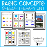 Basic Concepts Speech Therapy Activities
