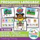 Speech and Language Preschool Bundle