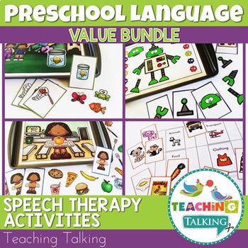 Preschool Language Activities Bundle