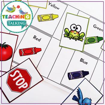 Vocabulary Activities for Preschool