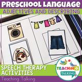 Adjectives and Describing Words Activities