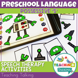Speech and Language Therapy Activities: Possessive 's'