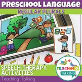 Preschool Speech Therapy Activities: Regular Plurals