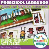 Preschool Verb Activities