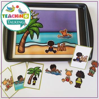 Preschool Verb Activities - Distance Learning Suitable