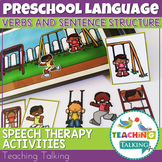 Preschool Language Activities & Boom Cards - Distance Lear