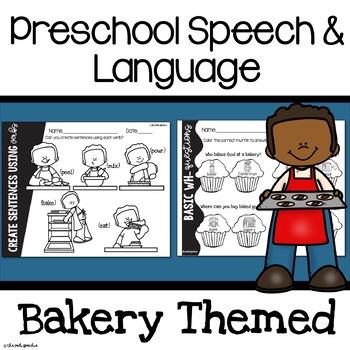 Preschool Speech and Language Baking