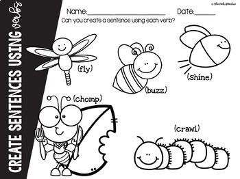 Preschool Speech and Language | Bugs and Insects | Bugs and Insects Activities