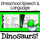 Preschool Speech and Language | Dinosaur Activities | Dinosaurs Preschool