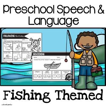 Preschool Speech and Language Fishing