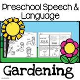 Preschool Speech and Language | Gardening Vocabulary | Spring Activities