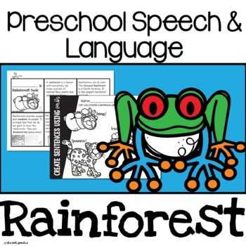 Preschool Speech and Language Rainforest