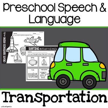 Preschool Speech and Language Transportation