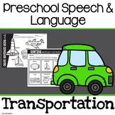 Transportation Preschool Activities   Preschool Speech Therapy   Sped