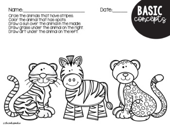 Preschool Speech and Language Zoo