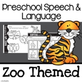 Preschool Speech and Language | Speech Therapy Activities for Preschoolers | Zoo