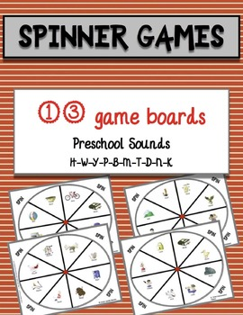 Speech Therapy Activities Preschool Spinner Games Early Sounds