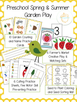 Preschool Spring and Summer Garden Play