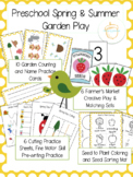 Preschool Spring and Summer Garden Play
