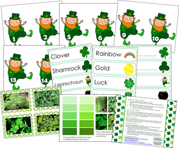 St. Patrick's Day Activity Bundle
