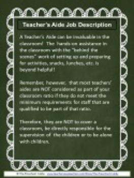 Preschool Staff Job Description Templates for Preschool Programs