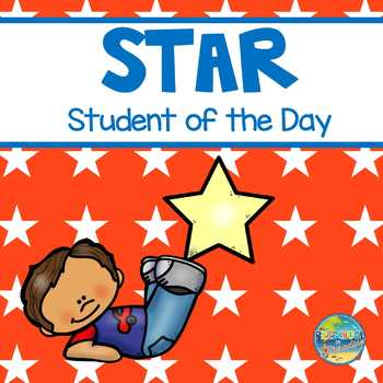 Preschool Star Student of the Day