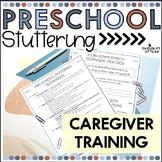 Preschool Stuttering Caregiver Training Activities
