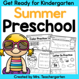 Preschool Summer - Distance Learning
