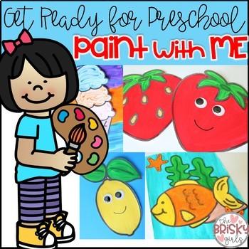 Preschool Summer Activities (Preschool Painting)