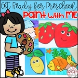 Preschool Summer Activities (Preschool Painting)