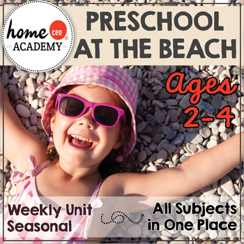 Preschool Summer At the Beach Unit