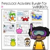 Preschool Summer Fun Activities for ESY or Summer School