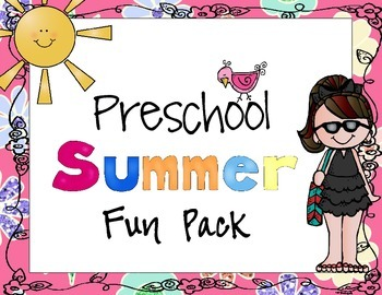 Preschool Summer Fun Pack