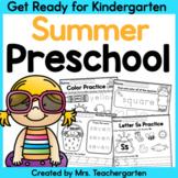 Preschool Summer - Get Ready for Kindergarten