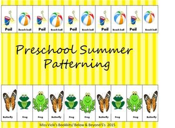 Preschool Summer Patterning